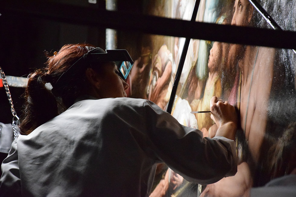Restoring a baroque masterpiece - Image by Taylor Smith