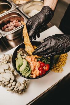 wakaya poke bar comer ávila salamanca cenar eventos catering