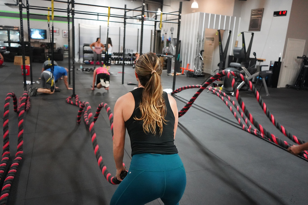 People Participating In Crossfit