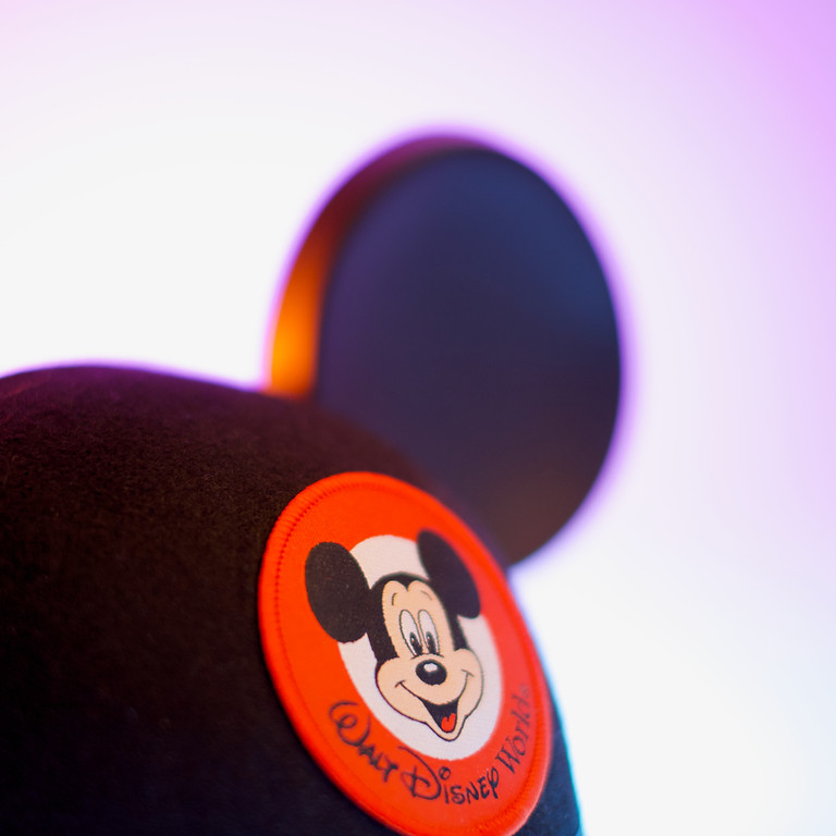5 SPOTS Mickey Magic Crop