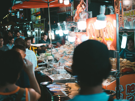 Studying abroad in Asia - What to Eat at the Night Markets in Taiwan