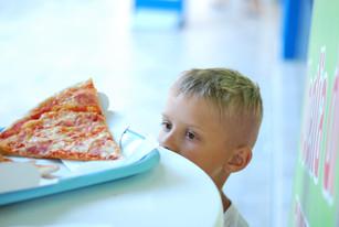 Don't take away my pizza!