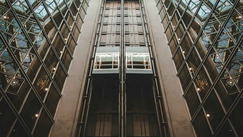 IFC İnsan asansörü / Dikey Kaldırma Platformu