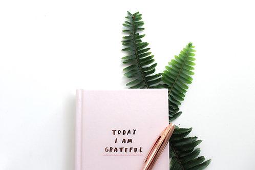Weekly Gratitude Journal
