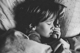 Sleeping toddler
