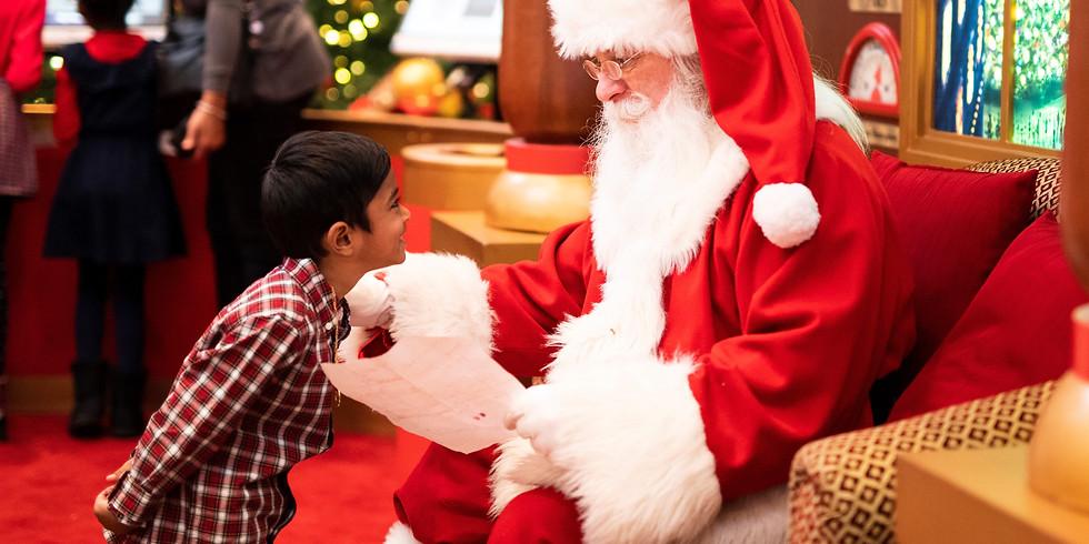 Santa Cruise: Sun.13th Dec