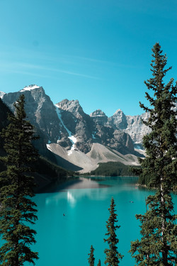 Banff Int'l Park in Alberta, Canada