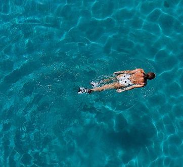 Leçon de natation en mer bretagne swim with me