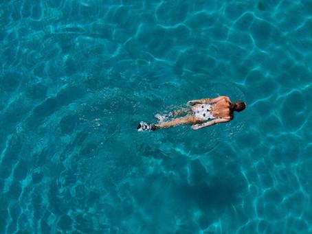 Hold balancen i vandet - tre øvelser til dig.