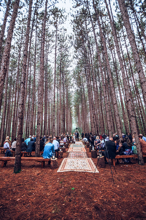 Final payment: Full Wedding (offsite)