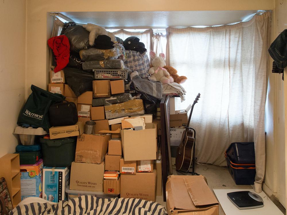 Rydde og organisere i rotete hjem