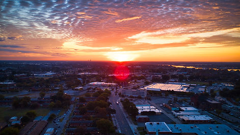 picture of woodbridge va from a drone