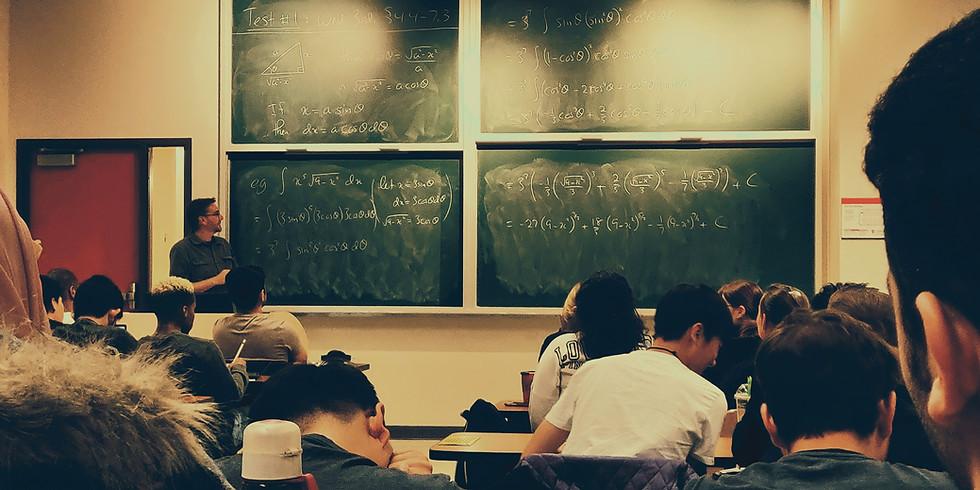 Back to School Math Classes (Pre-Alg-Calc)