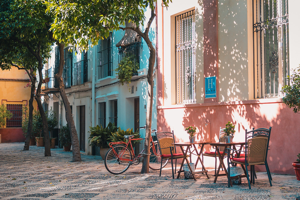 a little corner of beautiful Seville