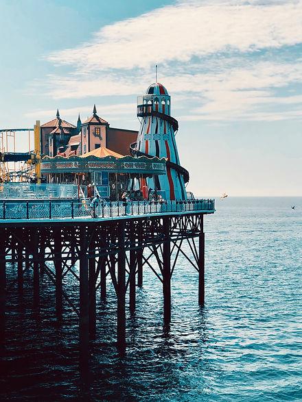 Brighton Pier Image by Alex Ovs