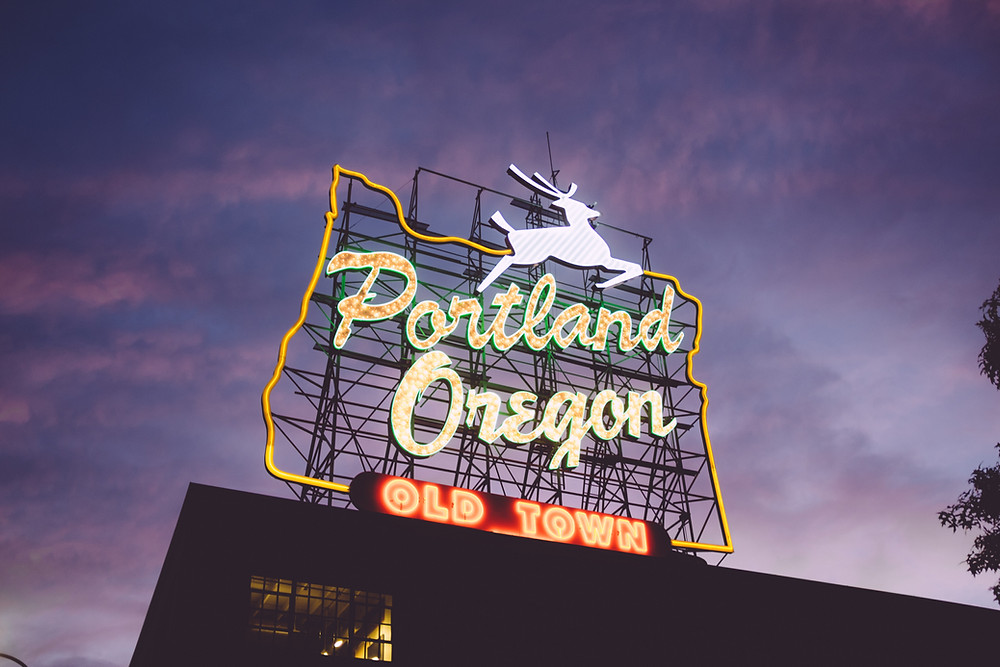 Portland, OR Neon Sign