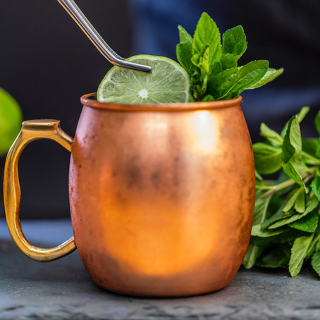 Learn how to make Moscow Mules with us today for Cocktail Friday!
