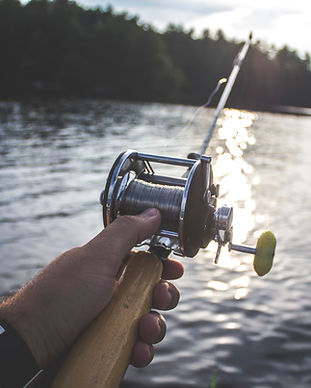 Fishing near Bergsmansgårds Bed and Breakfast in Kopperberg, Bergslagen