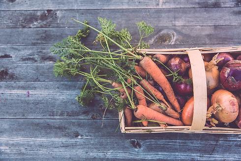 Basket for fresh produce