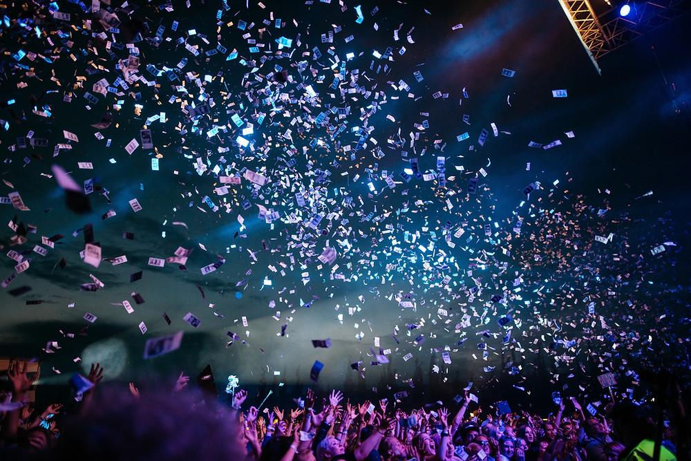 Celebrations in websummit lisbon