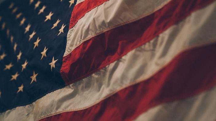 American Flag by Samuel Branch