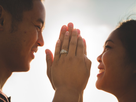 In a difficult marriage, character matters.