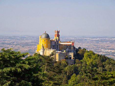 La magia de Sintra y el Palacio Da Pena