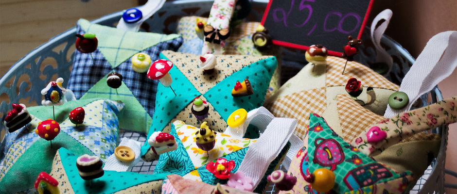 Sunflower Festival Craft Vendor Table