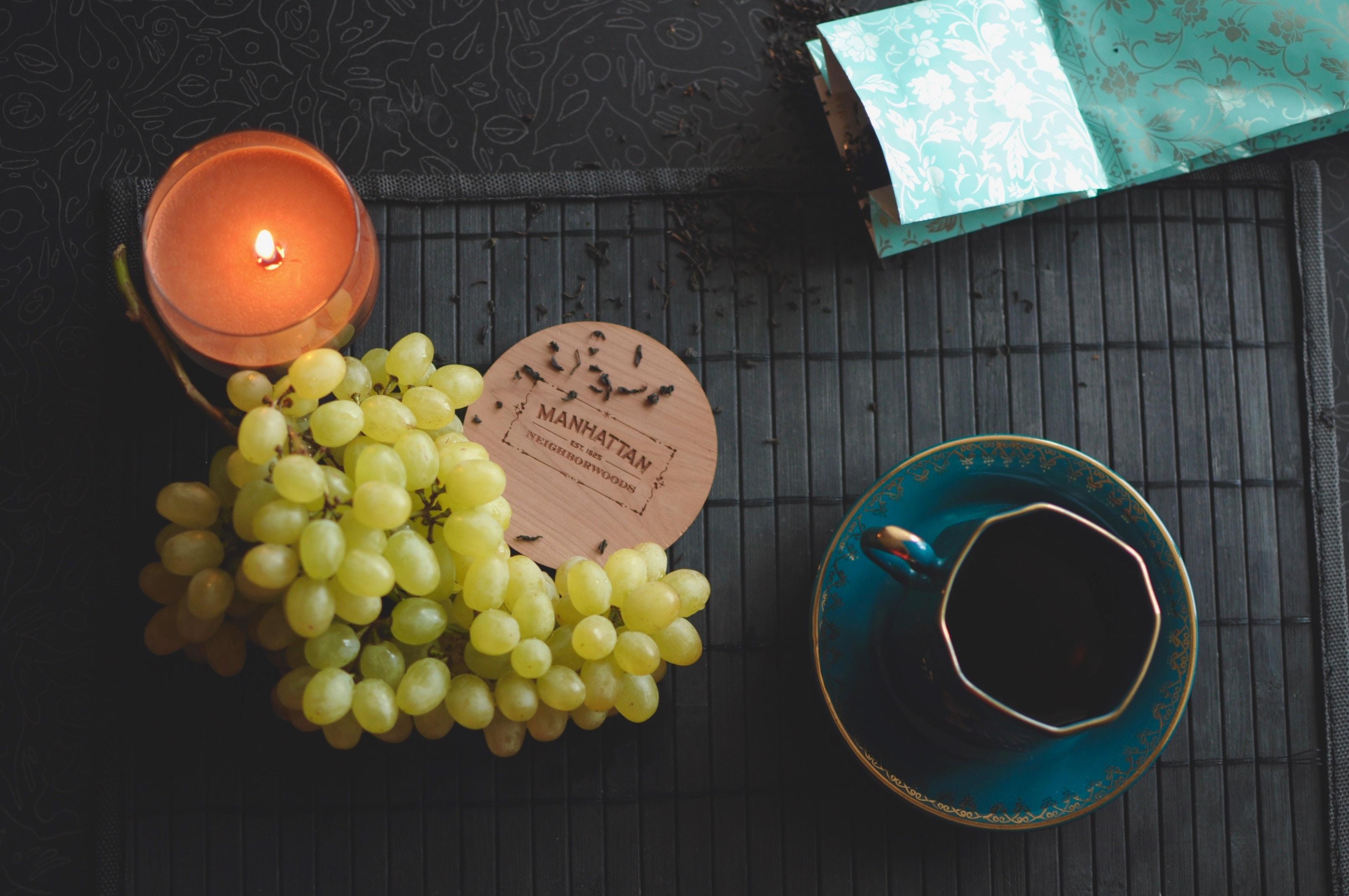 Tea & candlelight