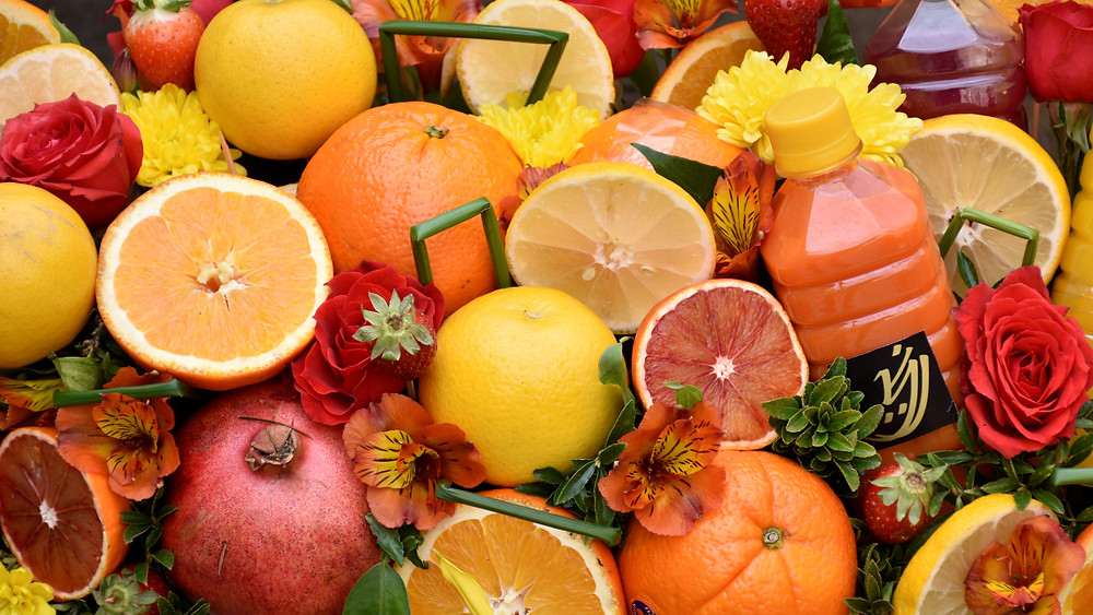 Citronellol terpenes are found in fruits and flowers