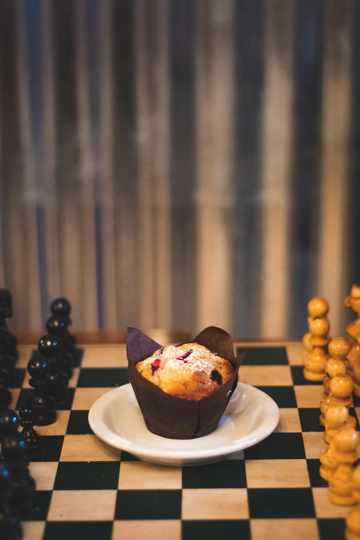 Gamification, Schach spielen, Muffin als Belohnung