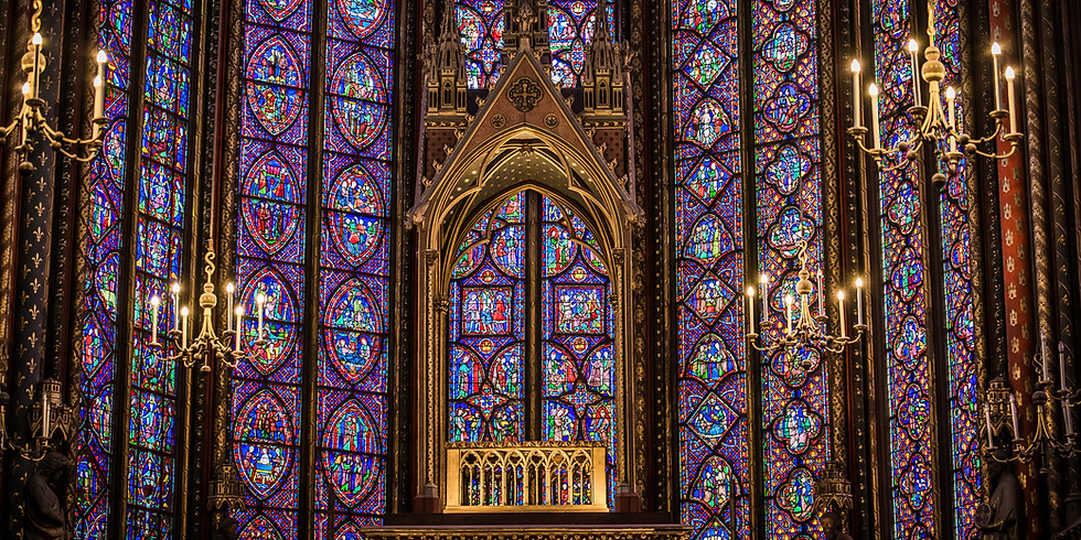 Stained Glass Greatness: An in-depth visit to the Chartres Cathedral with Champagne!