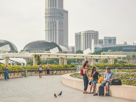 Singapur podría pronto aliviar las restricciones a los viajeros vacunados.