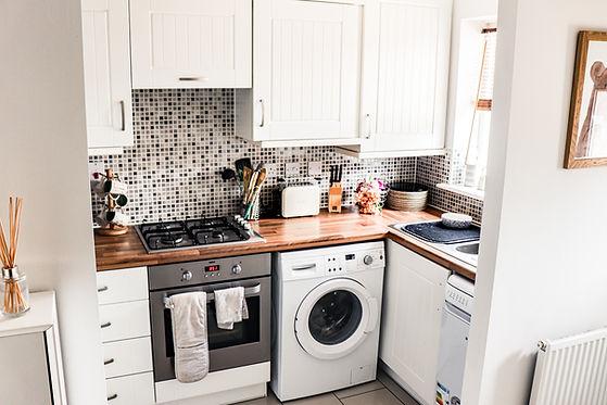 white custom cabinets in Calgary