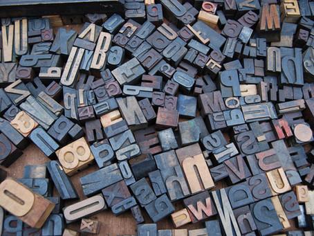 わたしがよく使う英文フォントその2。Copperplate | カッパープレート【フォント】