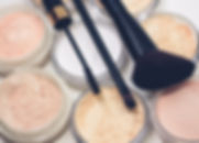 Cosmetic applications of the Fibroline dry powder impregnation technologies and process for nonwovens textiles foams. Make-up pads, skincare masks, fragrances.