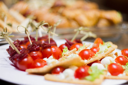 Canapé Tray - Veggie Delight