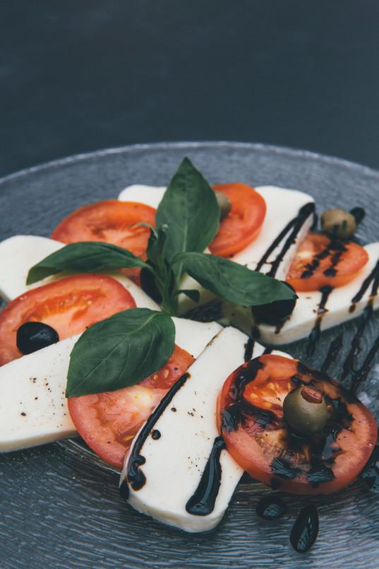 Tomates, mozza quoi de meilleur