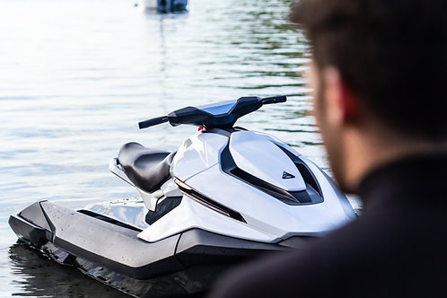 Storage of (2) Jetskis with Double Trailer