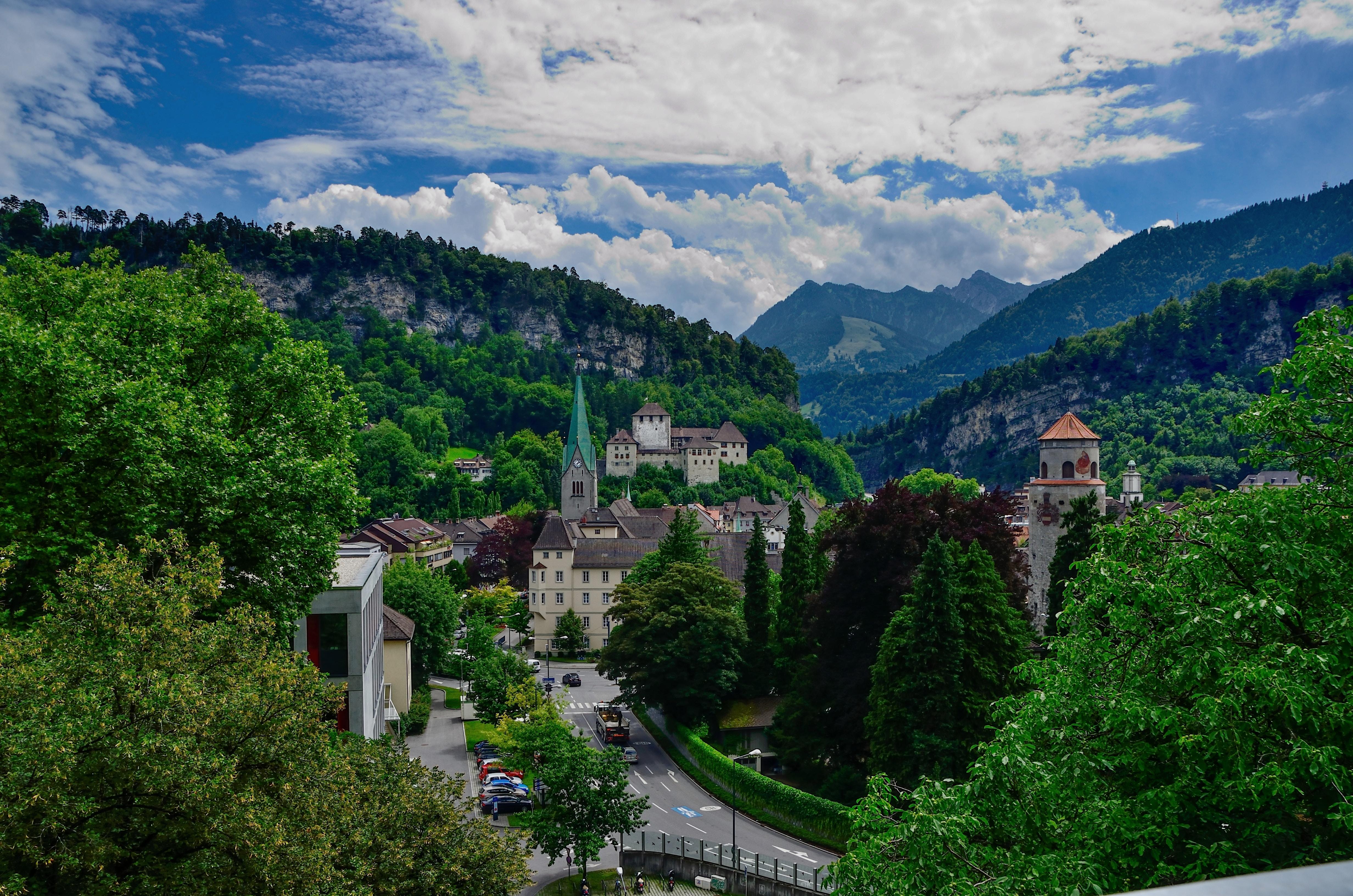 Ausblick Feldkirch