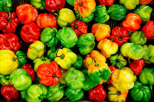 Mixed peppers (red and green)