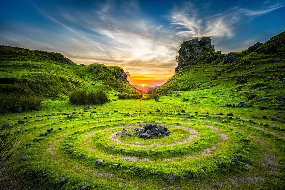 Pagan ritual sites have been mecca spaces for witches for centuries and they paved the way for modern ritual spaces like gardens.