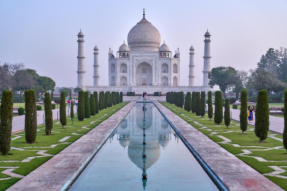 הטאג' מאהל שבאגרה הודו