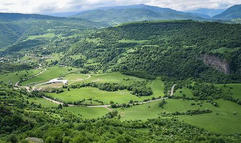 Green Valley in Armenia