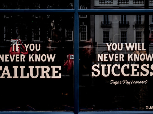 Why Failure is Essential to Success