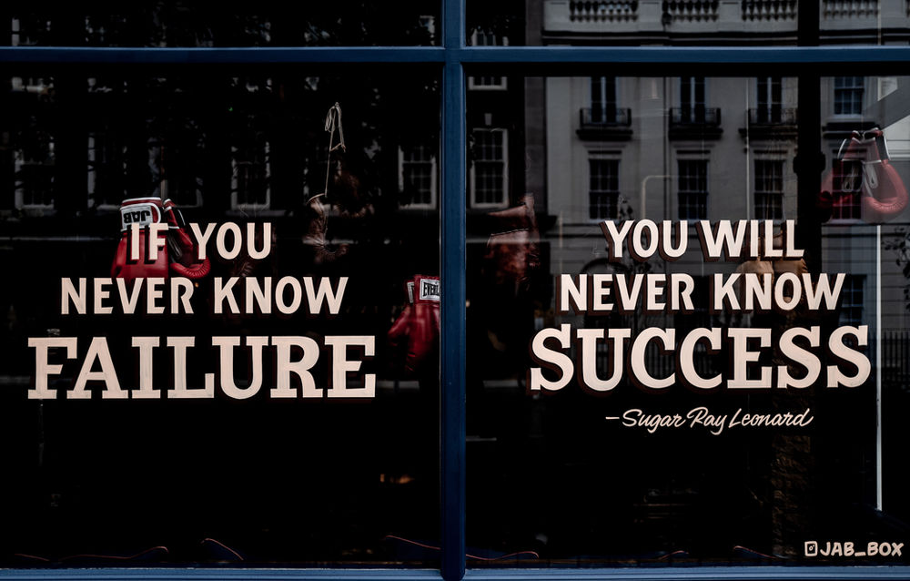 To be consistently successful you need to Fail Fast, Learn and Iterate.