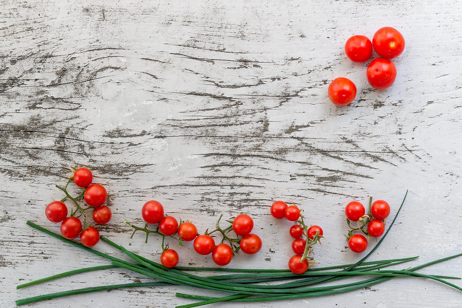 Ingredients tomatoes