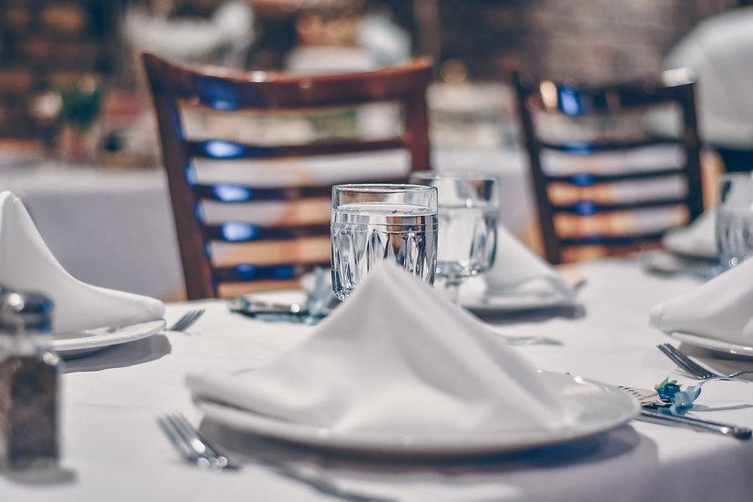 Chair & Cutlery Wedding Reception Package