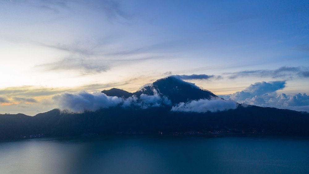 Mount Batur is one of the best things to do in Bali island, Indonesia.