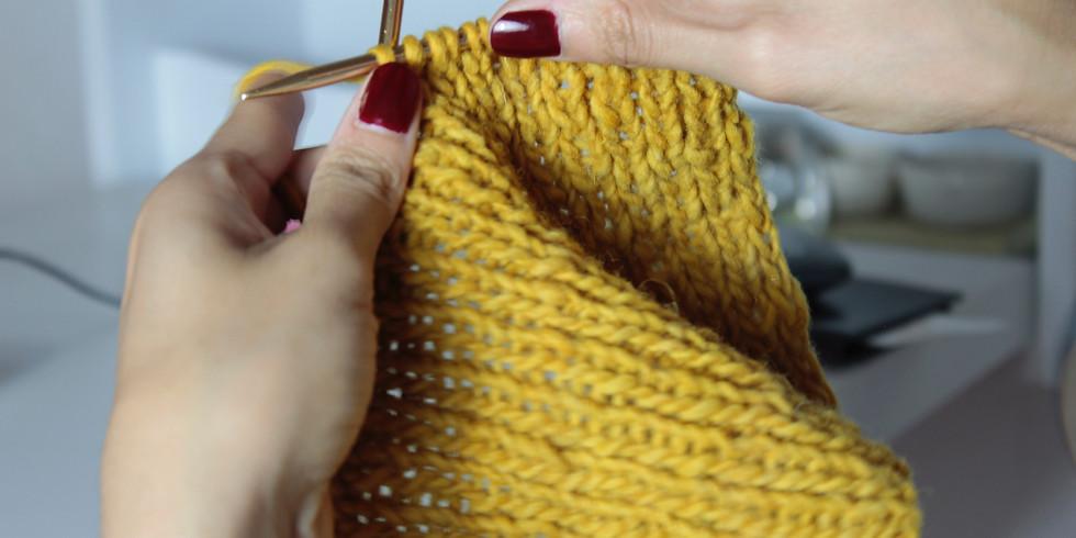Meditation knitting